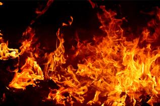 排気ダクトの火災検知